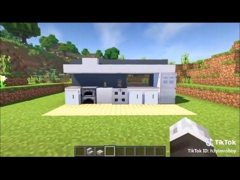 Minecraft Tiktok Building Hacks Youtube Minecraft House Plans Easy Minecraft Houses Minecraft Houses Blueprints