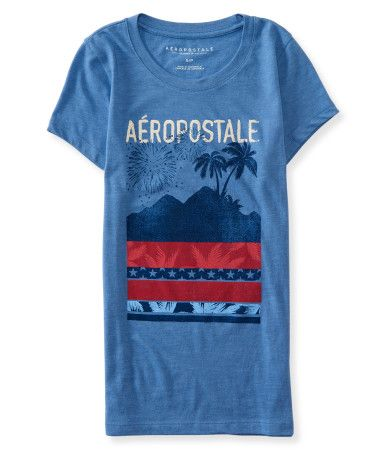 Just like when you see the dazzling lights in the sky, everyone will ooh and aah when they spot you in our Aero Fireworks Graphic T.