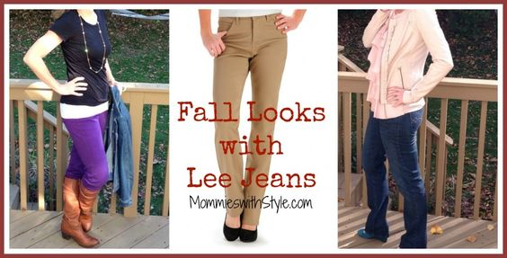 I wear jeans literally every...single...day! #LeeLooks Lee Jeans for the Fall, under $50 #FashionFriday: