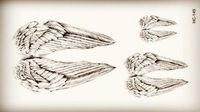 Hc149-new Design de moda tatuagem temporária adesivos temporária Body Art Tattoo Waterproof padrão