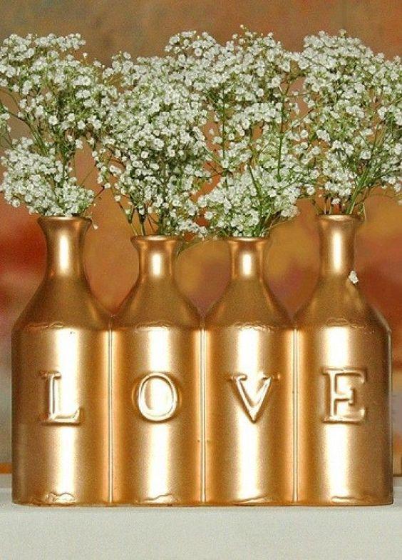 15 idéias de casamento de ouro deslumbrantes