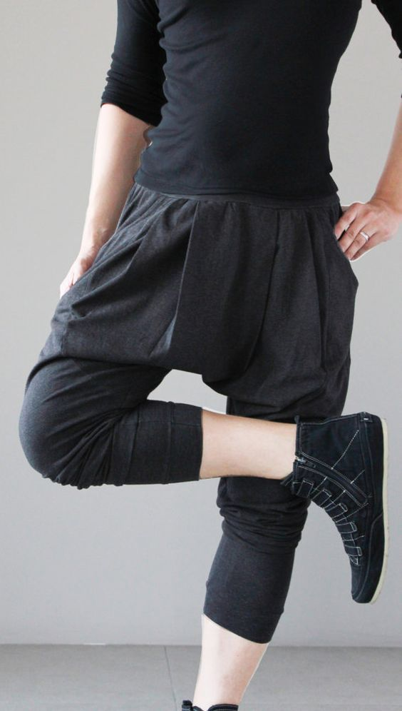 Harems, Harem pants and Pants on Pinterest
