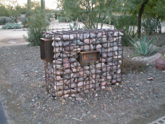 MailboxAddress Light desert yard stuff Pinterest
