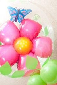 Bubbles Flor e Borboleta  Contate nos: 11 50816916 www.balaocultura.com.br