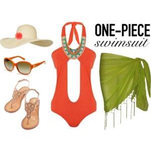 One-Piece Cutout Swimsuit