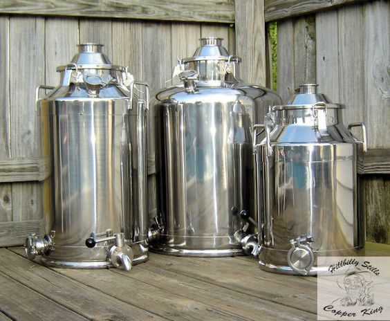 "Milk Can ""Boilers"" 