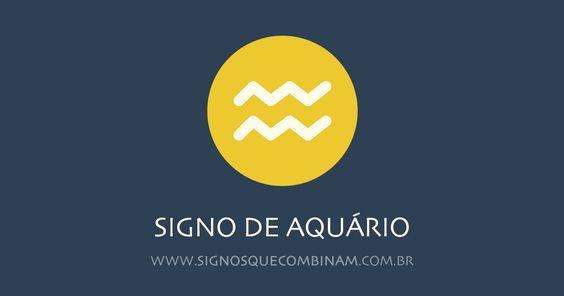 Combinação de signos com Aquário