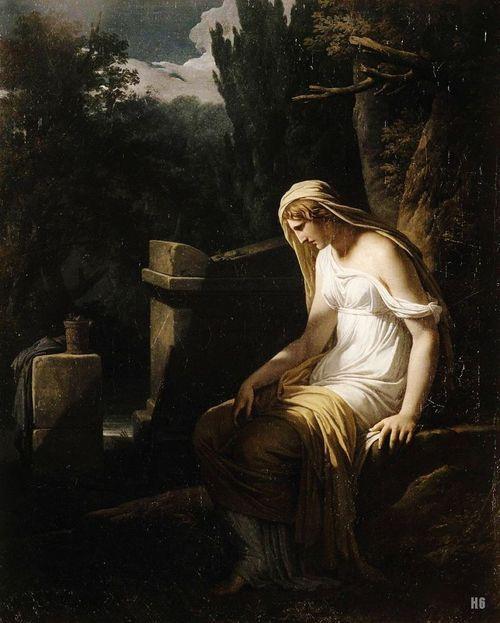 Francois Andre Vincent: Melancholy. 1801.