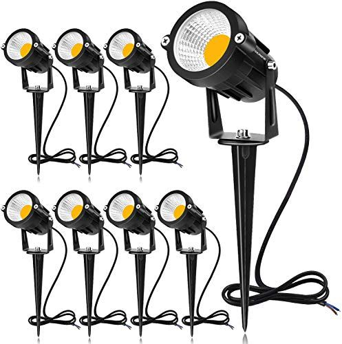 Buy Sunvie 12w Led Landscape Lights Low Voltage Ac Dc 12v Waterproof Garden Pathway Lights Super Warm White 900lm Walls Trees Flags Outdoor Spotlights Spik In 2020 Garden Of Lights Garden Pathway