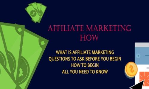 Affiliate Marketing How Questions To Ask Yourself Before You