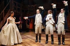 My latest show Hamilton. I play Alexander Hamilton.