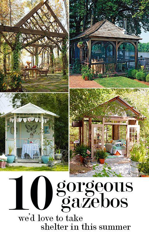 Cottage Style Shelters : Cottages we and gazebo on pinterest