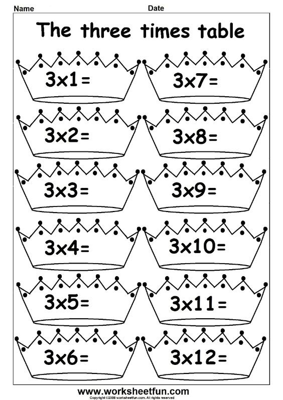 math worksheet : 2 3 4 5 6 7 8 9 10 11 and 12 times table  fun times  : Multiplication 6 7 8 9 Worksheets