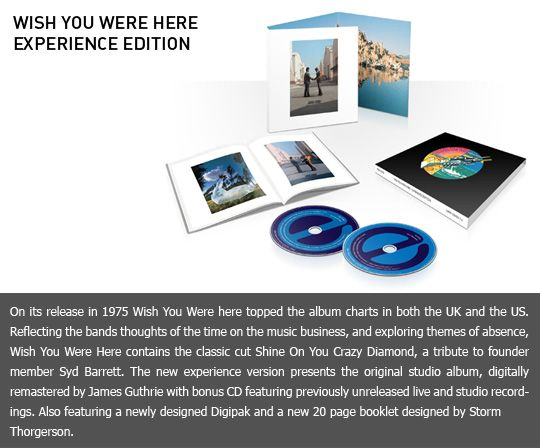Wish You Were Here: Experience Edition want