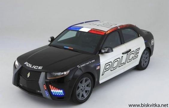 New police car in the U.S.