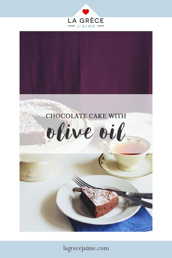 Chocolate Cake with Olive Oil. Chocolate and olive oil may sound incompatible and most would not dare to use them together but after you will have baked this mouthwatering Olive Oil Chocolate Cake you will have forgotten everything you know about brownies and simple chocolate cakes! It's a recipe you need to bake and it only takes a little time and the simplest ingredients to make because sometimes my dear friends, the best is hidden in simplicity.