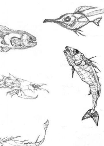 Diseños y bocetos  De Profundis  Miguelanxo Prado