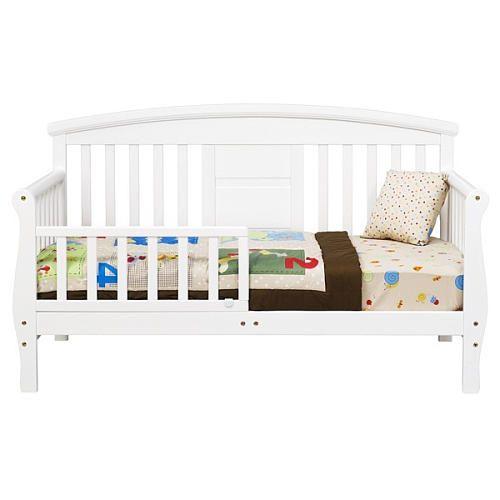 "Elizabeth II Convertible Toddler Bed - White - DaVinci - Toys ""R"" Us"