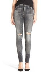 Citizens of Humanity 'Carlie' High Rise Skinny Jeans (Darkside)