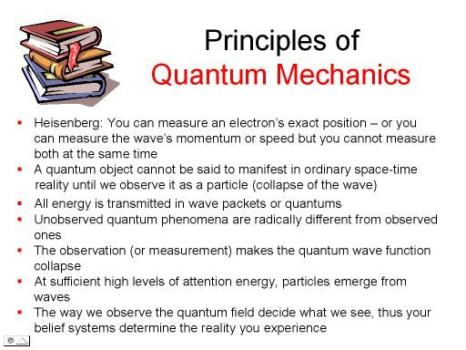 Quantum mechanics (or quantum theory) is a physical science dealing with the behaviour of matter and waves on the scale of atoms and subatomic particles.