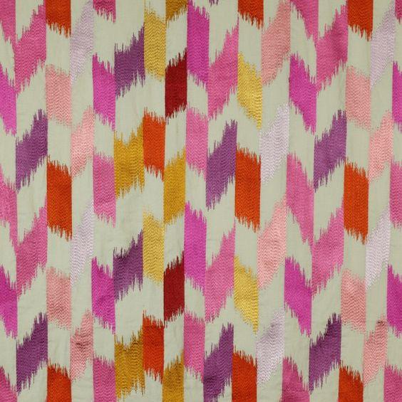 love this jane churchill fabric via ish & chi