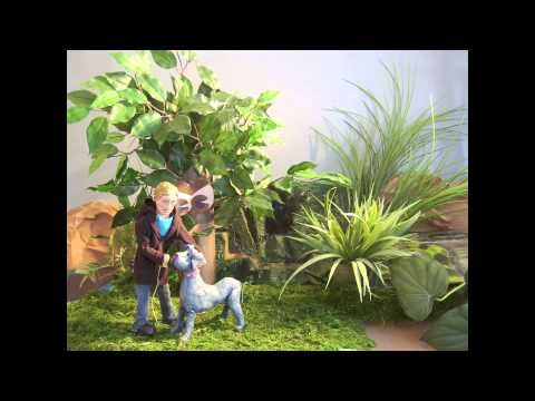 """Short Stop Motion Animation   """"Enchanted Forest""""   By: Samantha Erck"""