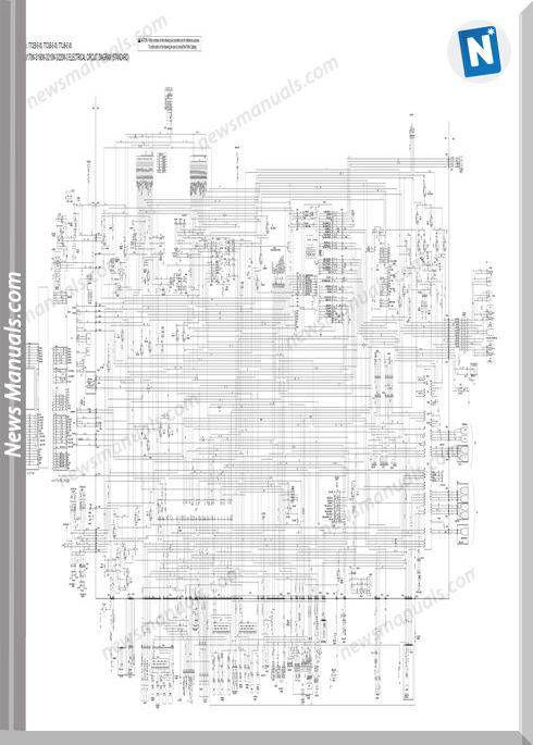 Hitachi Zaxis 140w 170w 190w 210w 220w 3 Electrical Cd1 Electrical Circuit Diagram Circuit Diagram Hitachi