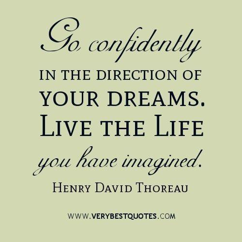 Thoreau Quotes Go Confidently