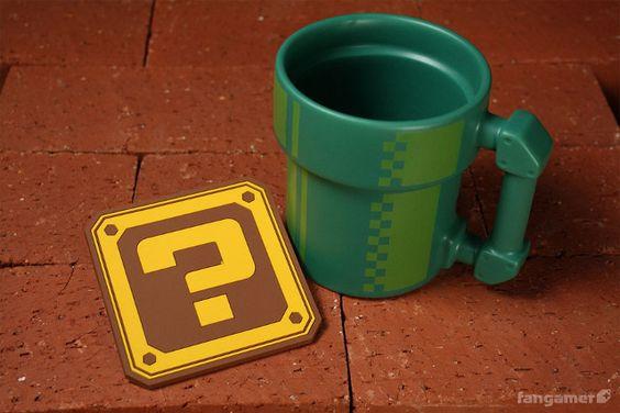 The Mario Pipe Coffee Mug