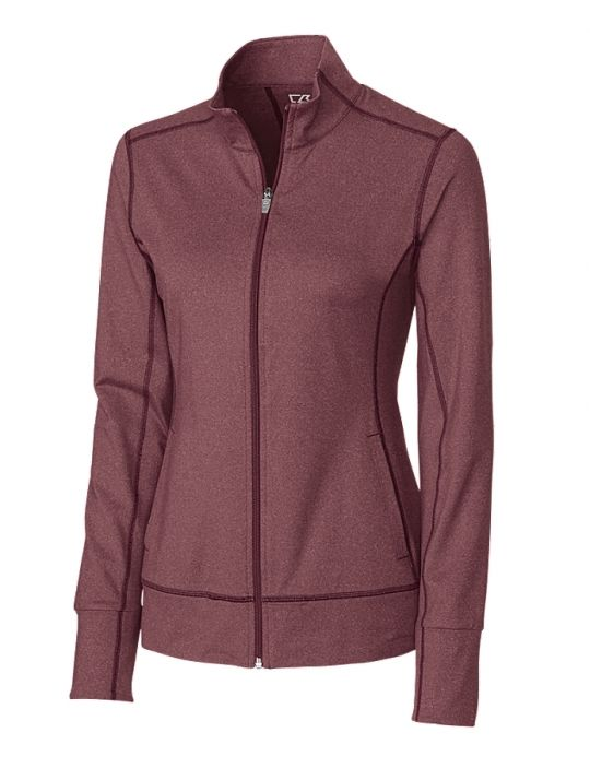 Cutter Buck Ladies Plus Size Long Sleeve Drytec Topspin Full Zip Golf Jackets Assorted Colors Golf Jackets Jackets Outerwear Jackets