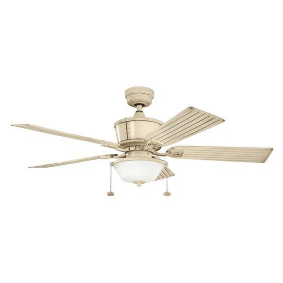 Kichler cates 52 in indoor outdoor ceiling fan from hayneedle com