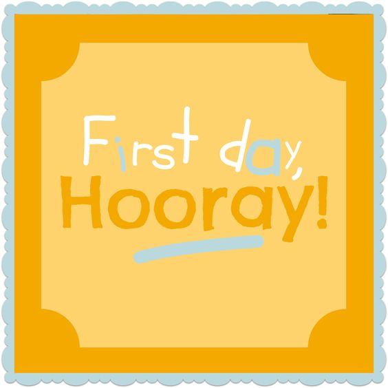 Some great tips for the first day of homeschool!