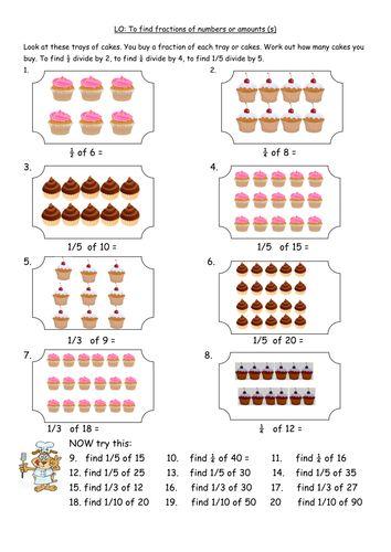 y4finding fractions of amounts number worksheets maths pinterest fractions student. Black Bedroom Furniture Sets. Home Design Ideas
