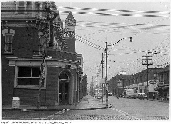 Ossington Avenue and Queen Street West by Toronto History, via Flickr