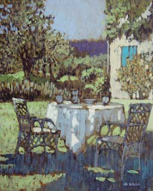 Mike Hall original 'Afternoon Tea':