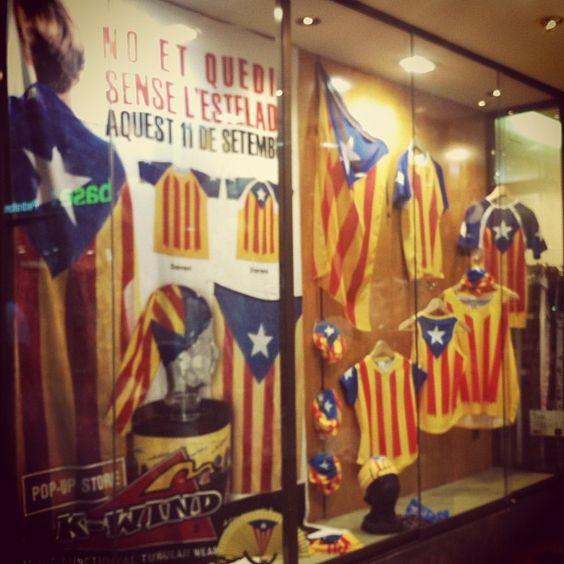 Aparador estelat #Catalunya #11s2013 #Diada #ViaCatalana #Independencia #Estelada