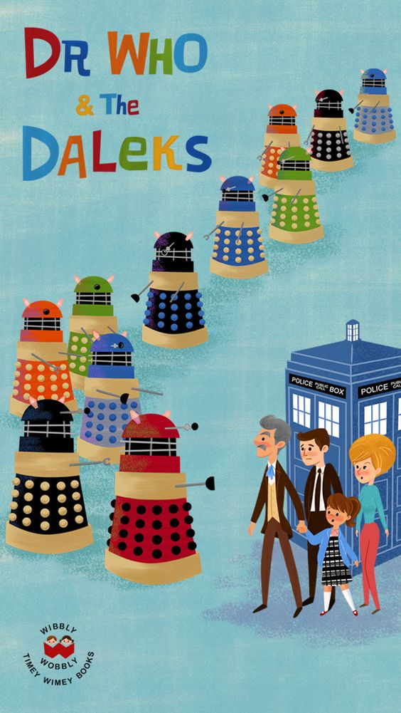 dr who and the daleks iphone 5 wallpaper created by eren