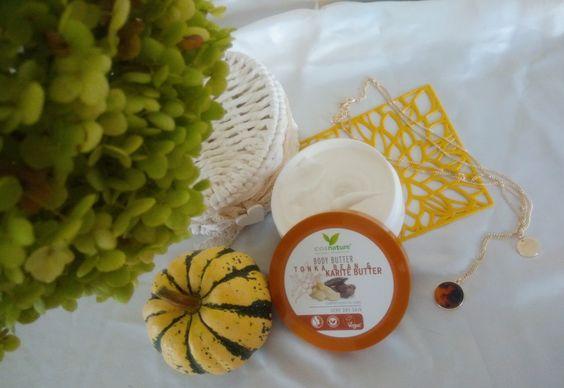 Naturalne odżywcze masło do ciała z masłem shea i tonką