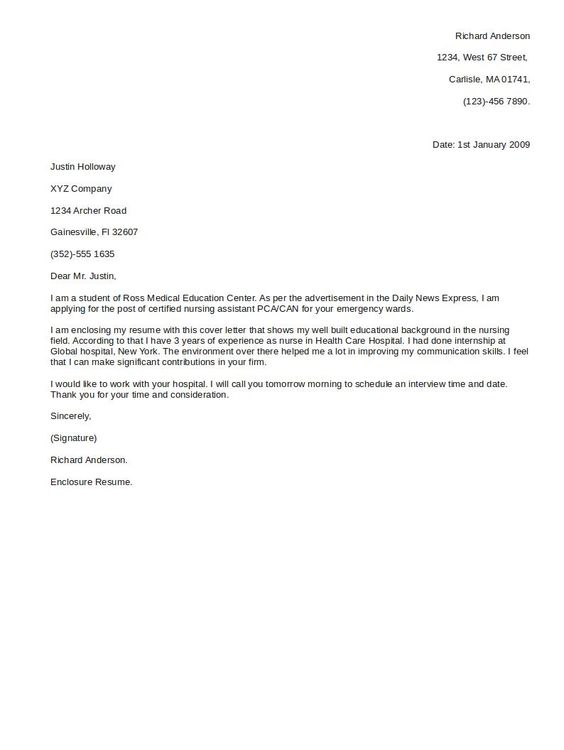 Basic Cover Letter For Resume Http Jobresumesample Com