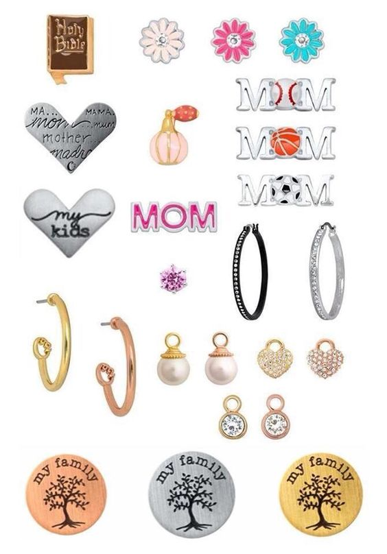Adorable!!  Origami Owl 2014 Mother's Day collection, including exclusives are available April 7!  daisycordero.origamiowl.com