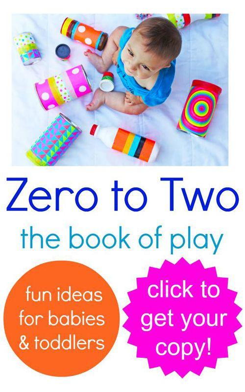 Increíble de libros electrónicos de cero a dos El libro de Juego Las ideas para los bebés y niños pequeños!  Disponible ahora.  Este libro es fantástico!