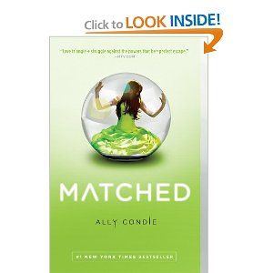 """I think this series is aimed at a teen audience, but I really enjoyed it. """"Matched"""" is book 1 of a trilogy. Be warned, the third book isn't out until Nov. 2012. You'll wish it was available now."""