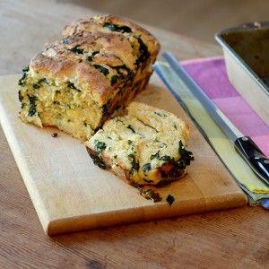 Gouda & Spinach Brioche