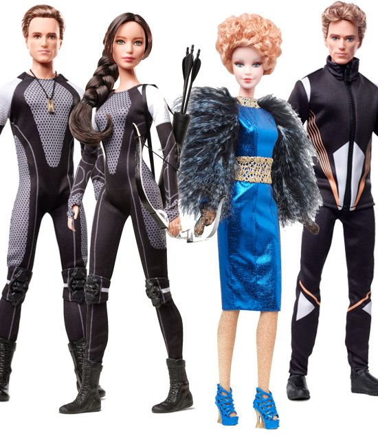 Barbie Loving: The Hunger Games Catching Fire Dolls