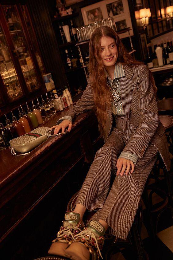 Fall 2018 / Winter 2019 trends, outfits and editorials | Harper's Bazaar x ELLE x Gucci