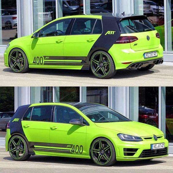 An insane #VW Golf R ABT - http://ift.tt/1HQJd81