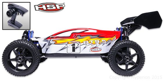 Bazooka B3 Buggy Red 1/8 RTR ブラシレスモーター付きモデル #HSP #RC #ラジコンカー #バギー #ホビー #クリスマス #プレゼント