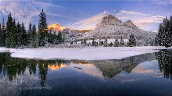#landscape #Photography : Winterspiegelung by FriedrichBeren https://t.co/JFKGgrSmC0 #followme #photography