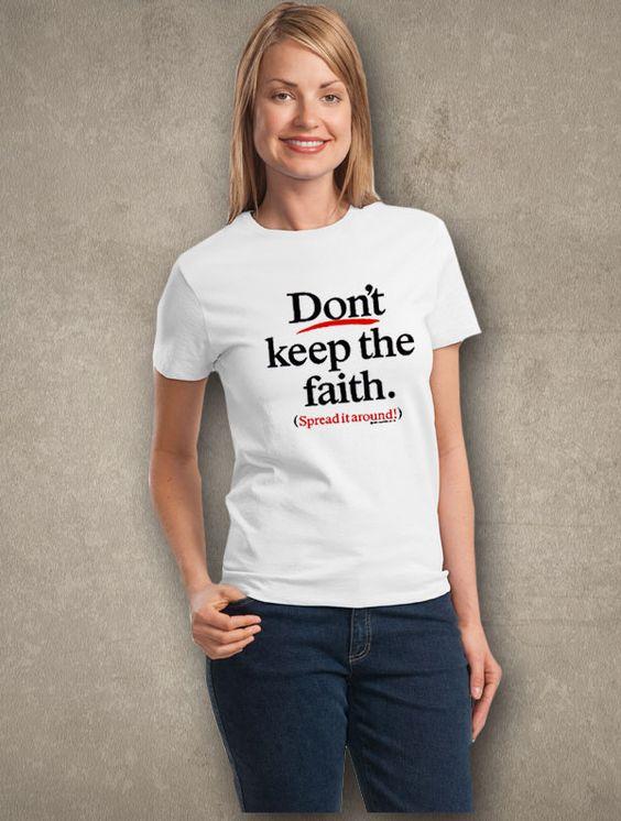 Don't Keep the Faith... Ladies