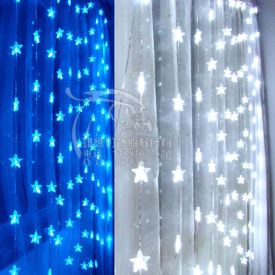 Battery Operated Led Outdoor Christmas Lights: outdoor christmas decorations flexible battery powered led strip light  patio party operated string lights Star bead,Lighting